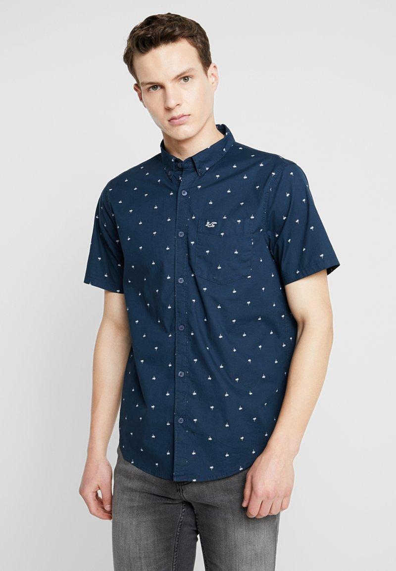 Hollister Co. - SLIM POP - Shirt - med blue