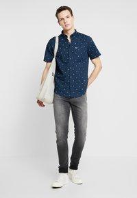 Hollister Co. - SLIM POP - Košile - med blue - 1