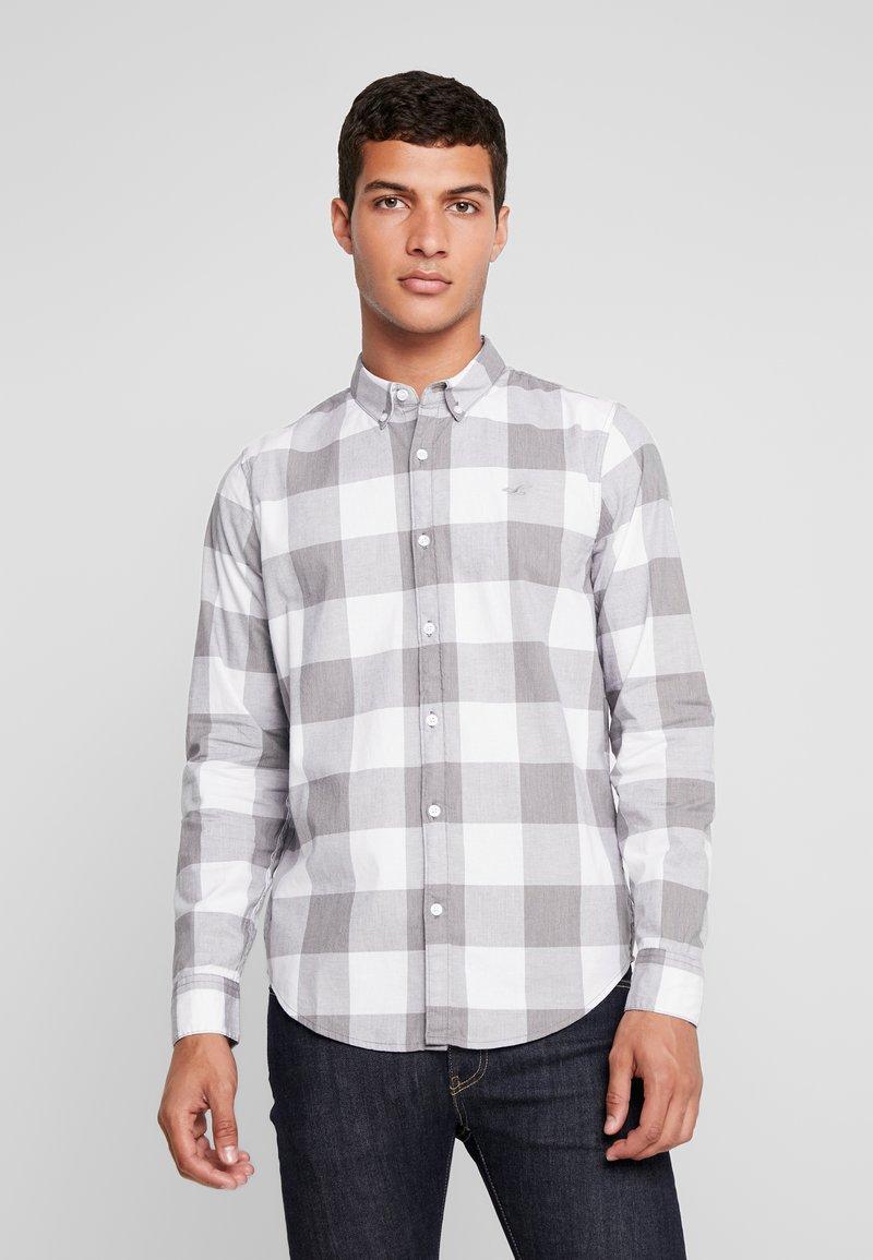 Hollister Co. - SLIM PATTERN POP  - Shirt - white check
