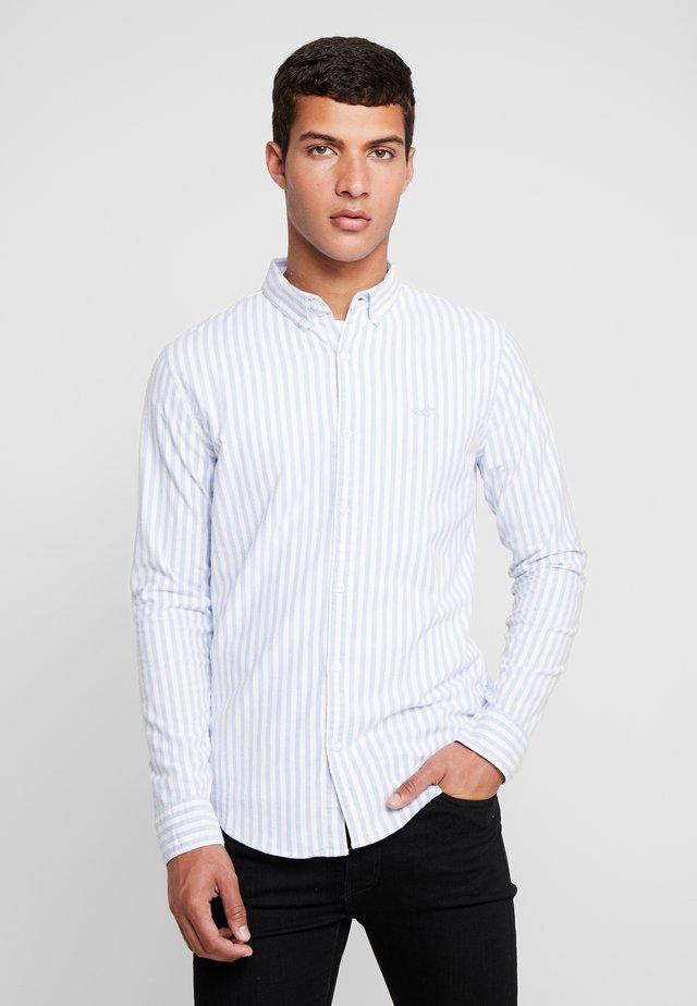 SLIM PATTERN POP  - Skjorta - blue