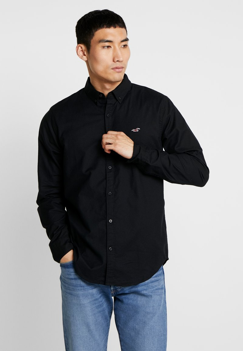 Hollister Co. - SLIM FIT - Camisa - black