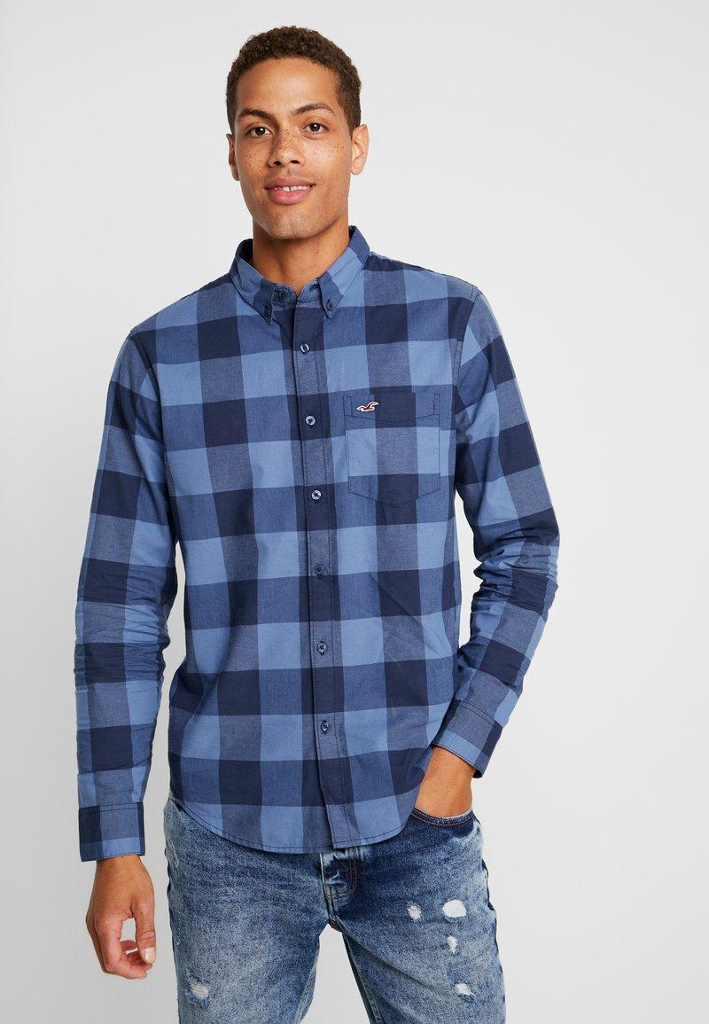 Hollister Co. - PATTERN POP - Shirt - blue
