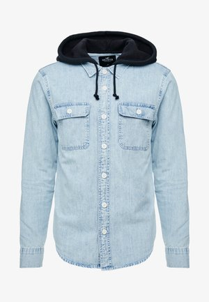 HOOD  - Camicia - acid denim