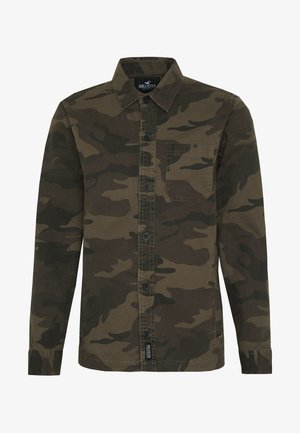BACKGRAPHIC OVERSHIRT - Chemise - dark green