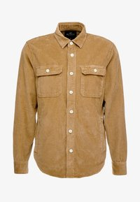 Hollister Co. - FLAN SHACKET - Shirt - tan solid cord - 4