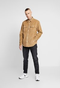 Hollister Co. - FLAN SHACKET - Shirt - tan solid cord - 1