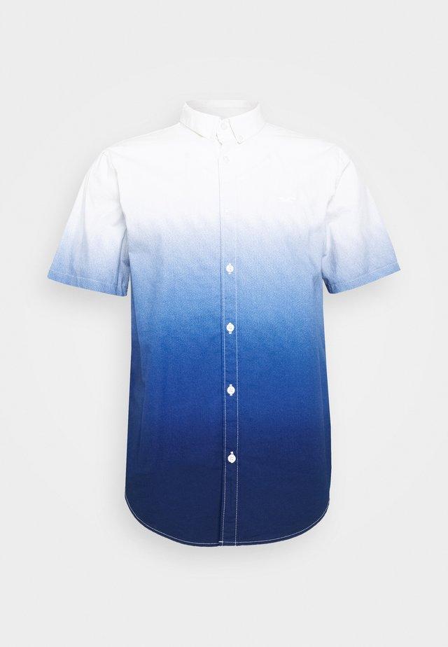 SLIM DIP DYE - Camisa - navy