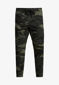 Hollister Co. - JOGGER GREEN CAMO - Bukse - olive camo - 3