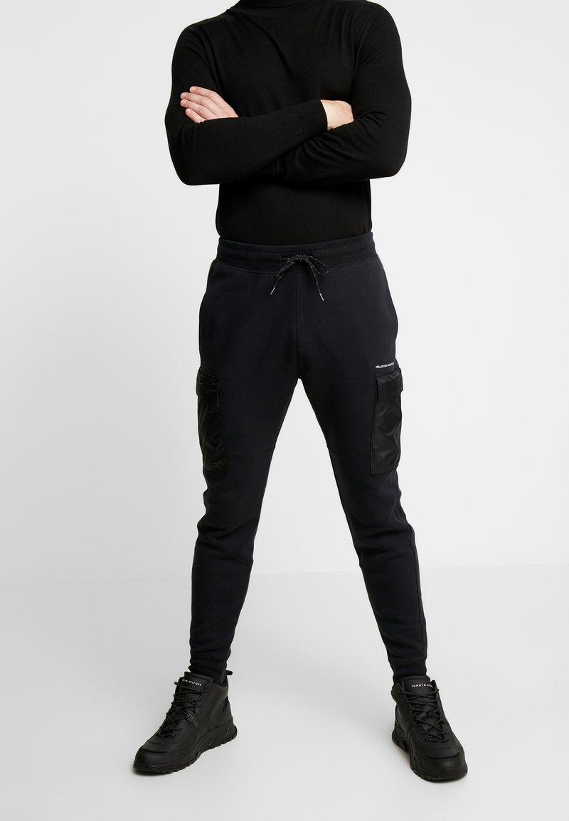 Hollister Co. - UTILITY - Pantalon de survêtement - black