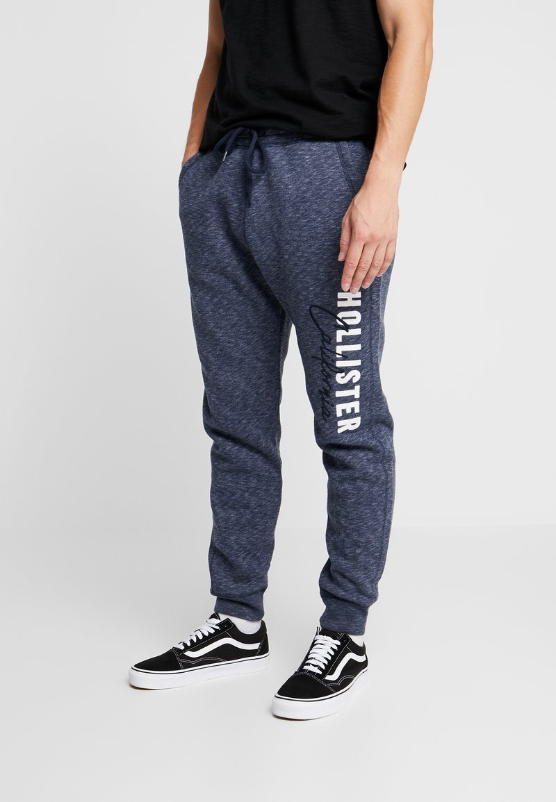 Hollister Co. - Tracksuit bottoms - navy