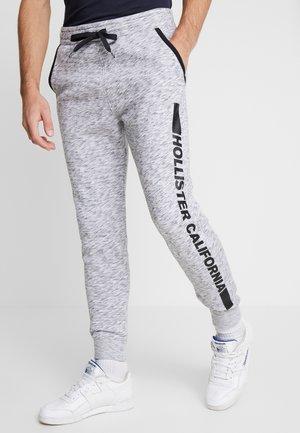 PRINT LOGO JOGGER  - Pantalones deportivos - heather grey