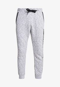 Hollister Co. - PRINT LOGO JOGGER  - Pantalon de survêtement - heather grey - 4