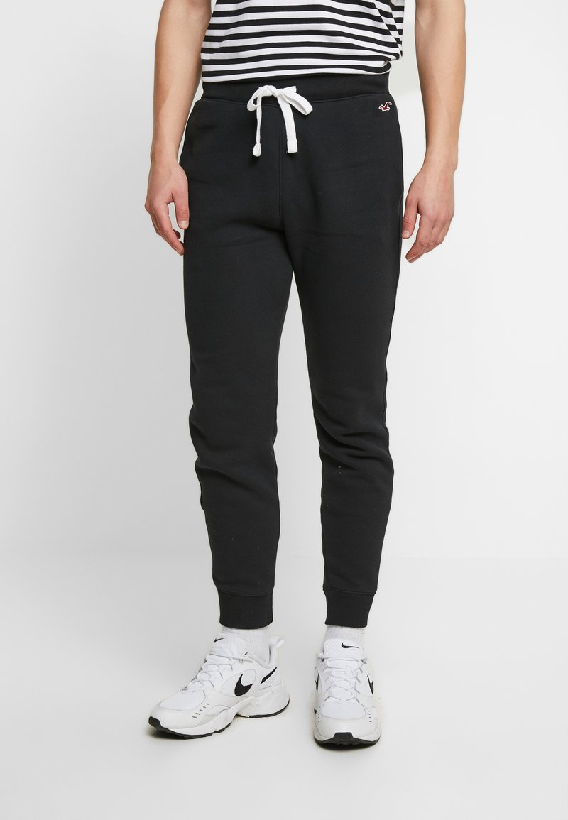 Hollister Co. - JOGGER - Pantalon de survêtement - black