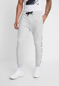 Hollister Co. - TAPE - Tracksuit bottoms - grey - 0