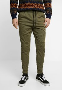 Hollister Co. - JOGGER  - Pantalones deportivos - olive - 0