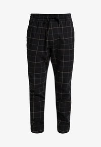 Hollister Co. - PLAID - Pantalones - khaki/black - 4