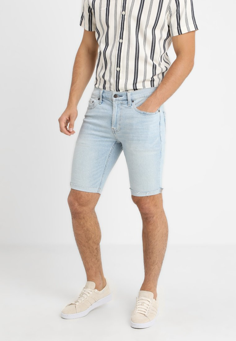 Hollister Co. - SPRSKNY CLEAN - Jeansshort - light