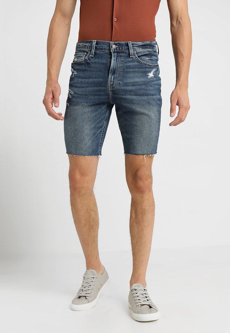Hollister Co. - Jeans Shorts - blue denim