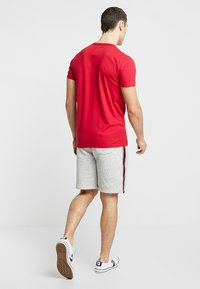 Hollister Co. - LOGO SHORT - Pantalon de survêtement - grey - 2