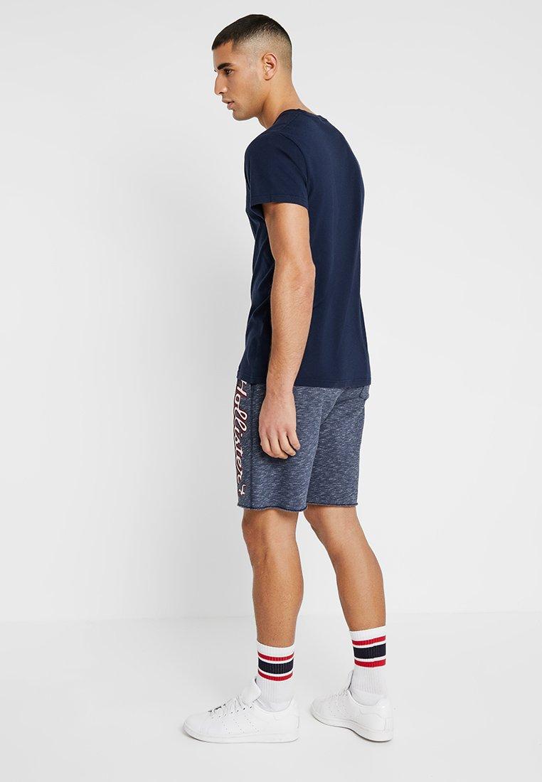 Hollister Co. - TECH LOGO - Shorts - navy