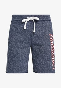 Hollister Co. - TECH LOGO - Shorts - navy - 4