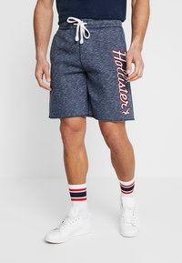 Hollister Co. - TECH LOGO - Shorts - navy - 2