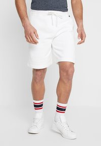 Hollister Co. - FIT - Tracksuit bottoms - white - 0