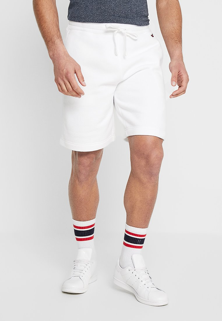 Hollister Co. - FIT - Tracksuit bottoms - white