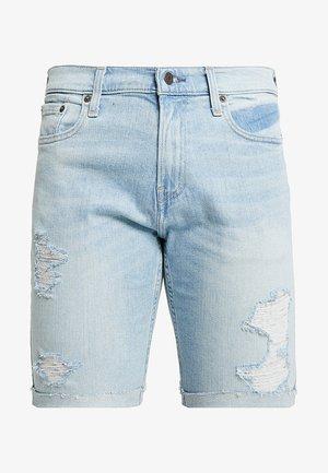 Denim shorts - light destroy