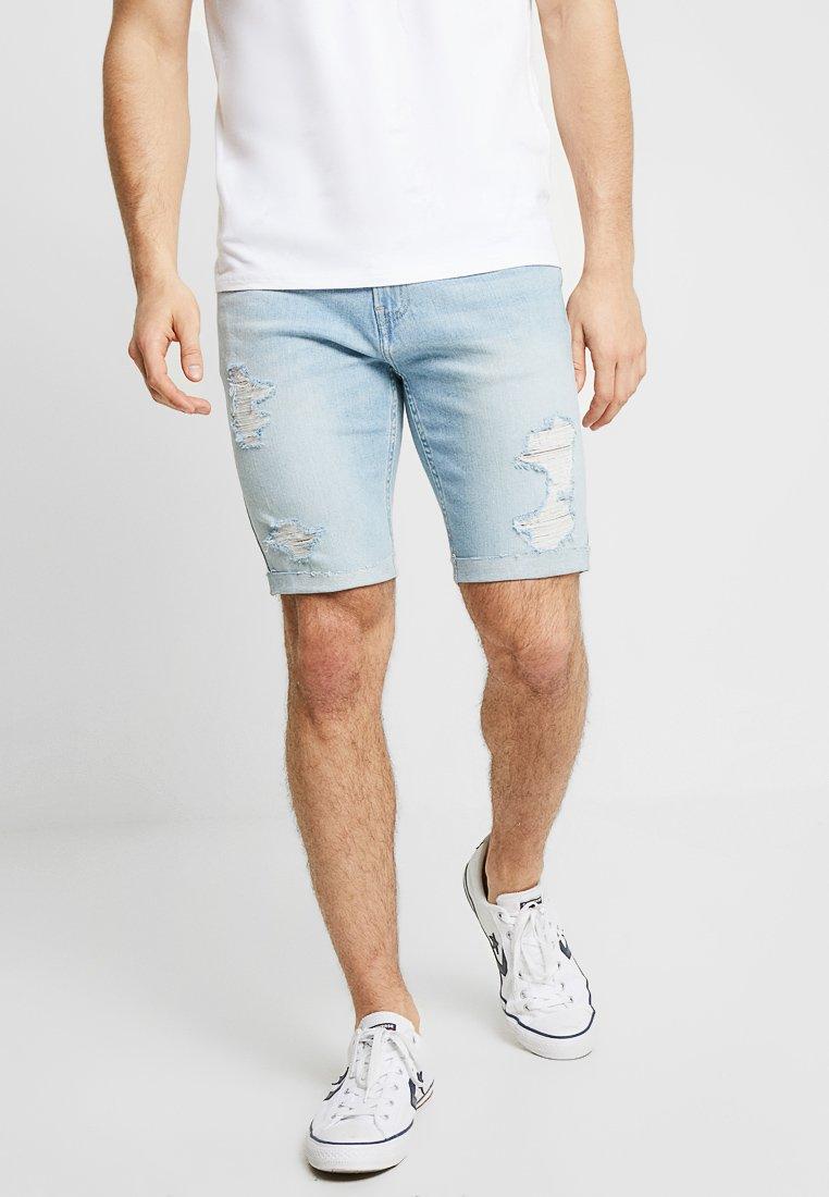 Hollister Co. - Denim shorts - light destroy