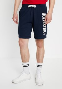 Hollister Co. - LOGO - Shorts - navy - 0