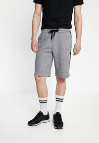 Hollister Co. - TAPED - Tracksuit bottoms - grey - 0