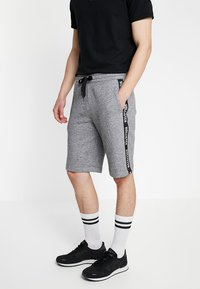 Hollister Co. - TAPED - Tracksuit bottoms - grey - 3