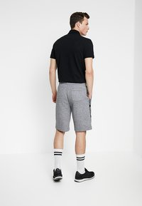 Hollister Co. - TAPED - Tracksuit bottoms - grey - 2
