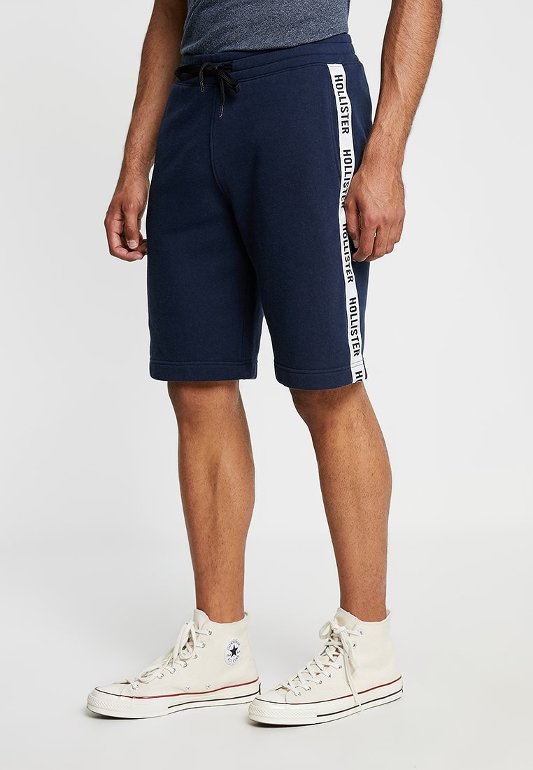 Hollister Co. - TAPED - Pantalones deportivos - navy