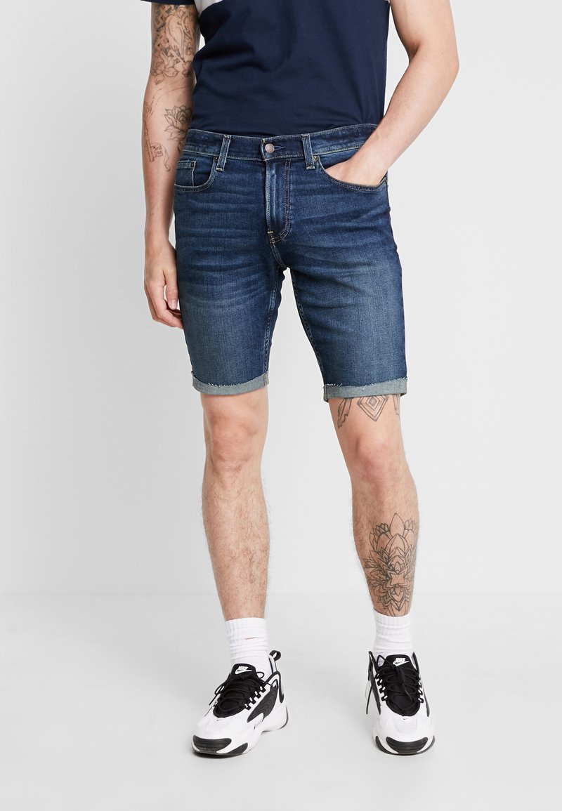 Hollister Co. - Denim shorts - dark