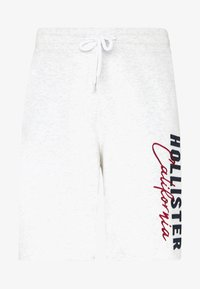 Hollister Co. - ICONIC LOGO - Pantalon de survêtement - light grey - 3