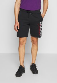Hollister Co. - ICONIC LOGO - Pantalones deportivos - black - 0