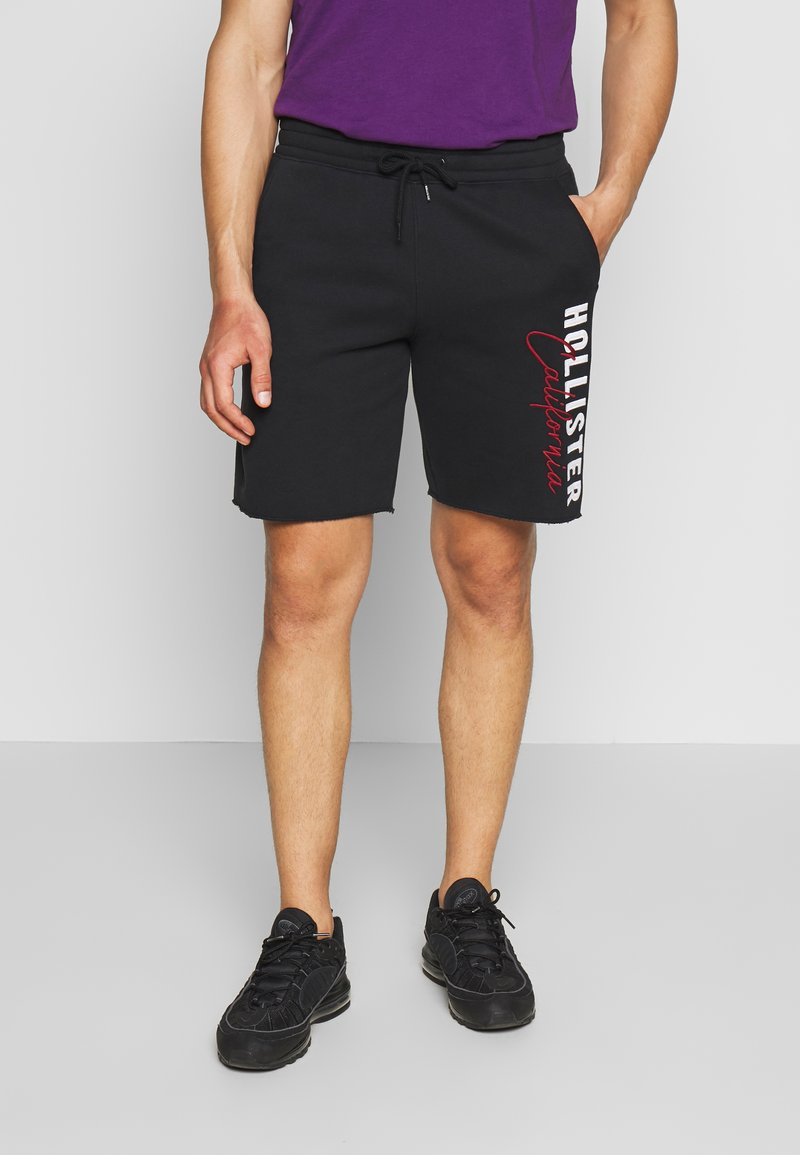 Hollister Co. - ICONIC LOGO - Pantalones deportivos - black