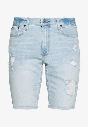 DESTROY  - Short en jean - light blue