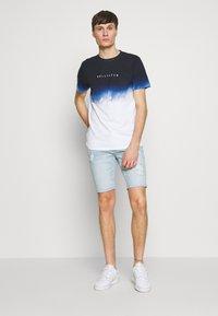 Hollister Co. - DESTROY  - Denim shorts - light blue - 1