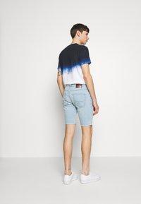 Hollister Co. - DESTROY  - Denim shorts - light blue - 2