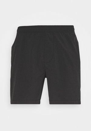 HYBRID - Short - heathered black
