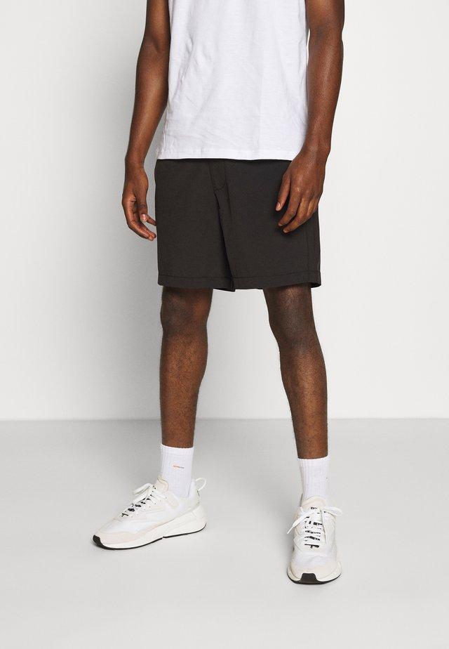 HYBRID - Shorts - heathered black