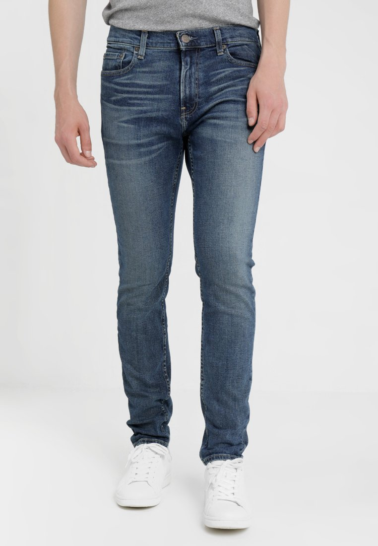 Hollister Co. - MEDIUM   - Skinny džíny - blue denim