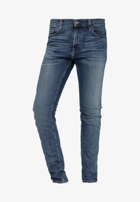 Hollister Co. - MEDIUM   - Skinny džíny - blue denim - 4