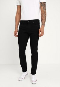 Hollister Co. - SKINNY STAY - Jeans Skinny Fit - black - 0
