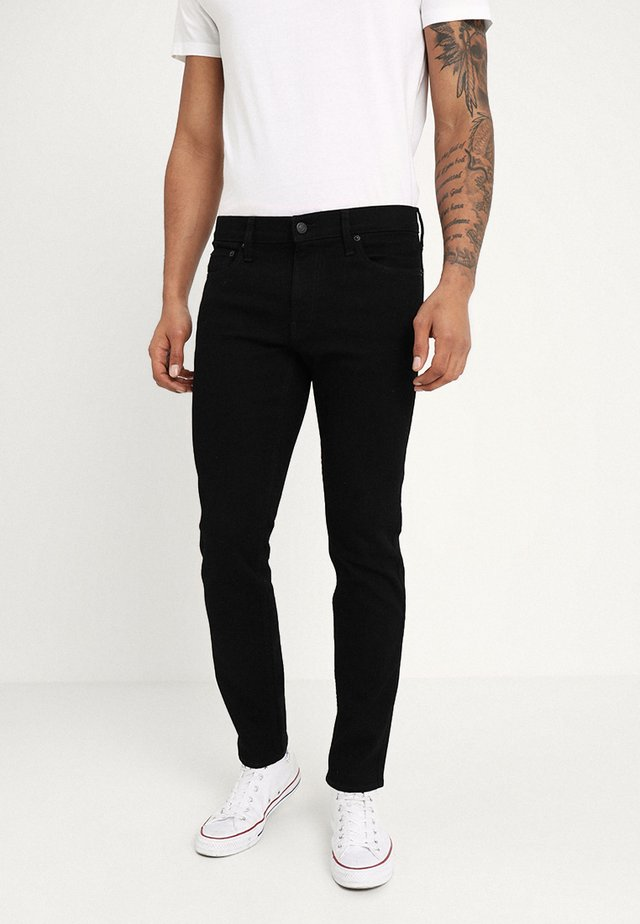 SKINNY STAY - Vaqueros pitillo - black