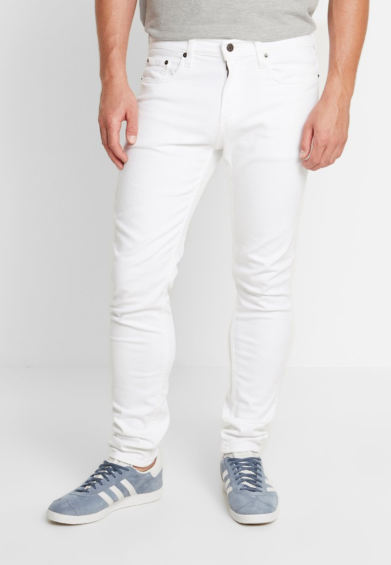 Hollister Co. - CLEAN  - Jeans Skinny Fit - white