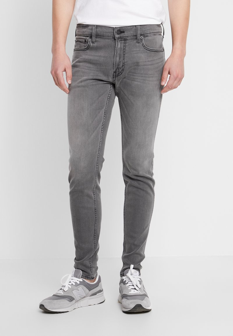 Hollister Co. - CLEAN - Jeans Skinny Fit - grey
